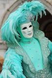 karneval 2008 venice Arkivbilder
