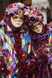 karneval 2008 venice Royaltyfria Bilder