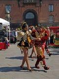 karneval 2009 copenhagen Royaltyfri Foto