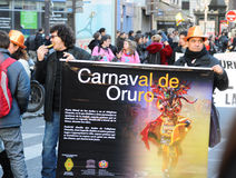 karneval 2011 paris Arkivbild