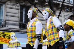 karneval 2011 paris Fotografering för Bildbyråer