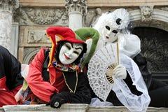 Karneval 2011 von Venedig Stockfoto