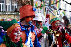 karneval 2012 maastricht arkivbilder