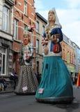 Karneval Aalsterse Giants Lizenzfreie Stockfotos