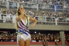 Karneval 2017 - Academicos gör stor Rio de Janeiro royaltyfria foton