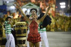 Karneval 2017 - Academicos tun Cubango Stockfotografie