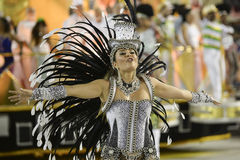 Karneval 2017 - Academicos tun Cubango Lizenzfreie Stockfotografie