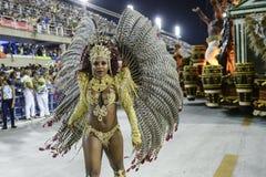 Karneval 2017 - Academicos tun Cubango Lizenzfreie Stockbilder