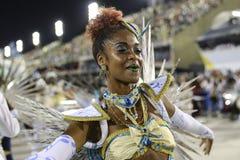 Karneval 2017 - Academicos tun Cubango Stockfotos