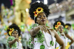 Karneval 2017 - Academicos tun Cubango Lizenzfreie Stockfotos