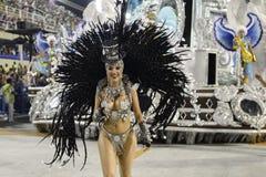 Karneval 2017 - Academicos tun Cubango Stockbilder