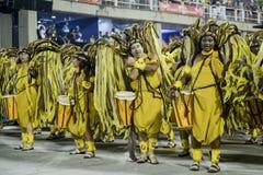 Karneval 2017 - Academicos tun Cubango Lizenzfreies Stockfoto