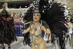 Karneval 2017 - Academicos tun Cubango Stockbild