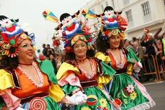Karneval in Arrecife Lanzarote 2009 Stockbilder