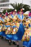 Karneval in Arrecife Lanzarote 2009 Stockfotografie