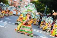 Karneval av Badajoz Fotografering för Bildbyråer