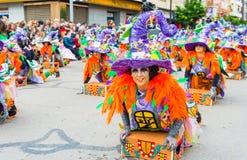 Karneval av Badajoz Arkivbilder