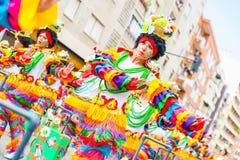 Karneval av Badajoz Royaltyfri Foto