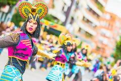 Karneval av Badajoz Arkivfoto