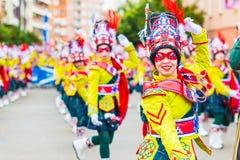 Karneval av Badajoz Royaltyfria Bilder