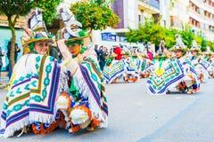 Karneval av Badajoz Royaltyfria Foton