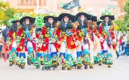 Karneval av Badajoz Arkivbild