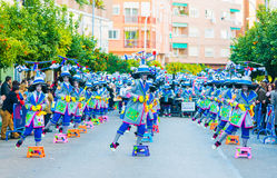 Karneval av Badajoz Royaltyfri Fotografi