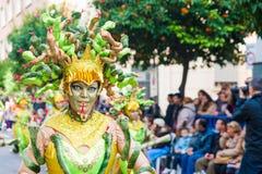 Karneval av Badajoz 2016 Royaltyfri Bild