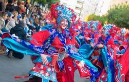 Karneval av Badajoz 2016 Royaltyfria Foton