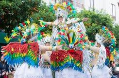 Karneval av Badajoz 2016 Arkivfoton