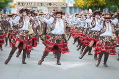 Karneval av Badajoz 2016 Arkivbild