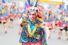 Karneval av Badajoz 2016 Arkivfoto