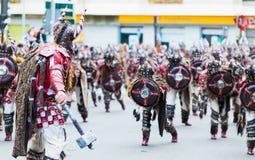 Karneval av Badajoz 2016 Royaltyfri Foto