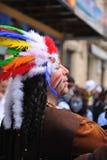 Karneval av Cadiz, Andalusia, Spanien royaltyfri foto