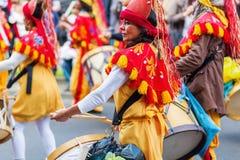 Karneval av kulturer i Berlin, Tyskland royaltyfria foton
