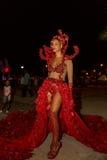 Karneval av sommar i Mindelo, Kap Verde Arkivfoton