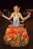Karneval av sommar i Mindelo, Kap Verde Arkivbild