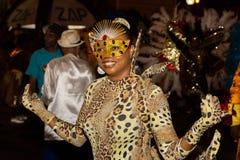 Karneval av sommar i Mindelo, Kap Verde Royaltyfri Bild