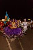 Karneval av sommar i Mindelo, Kap Verde Royaltyfria Foton