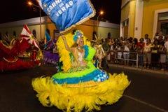 Karneval av sommar i Mindelo, Kap Verde Royaltyfria Bilder