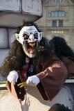Karneval in Basel Stockfotografie
