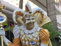 Karneval bei Harrahs lizenzfreie stockfotos