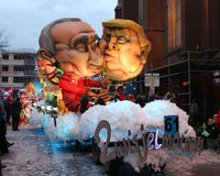 Karneval Belgien Arkivfoton