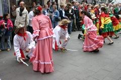 karneval copenhagen Royaltyfria Bilder