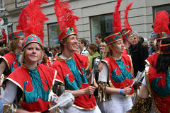 karneval copenhagen Arkivfoton