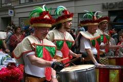 karneval copenhagen Royaltyfri Bild