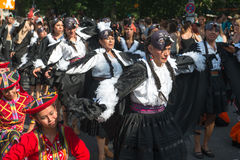 Karneval der的Kulturen参加者 免版税库存照片