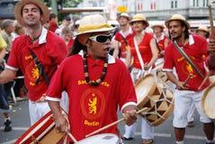Karneval der Kulturen in Berlin Stockbilder