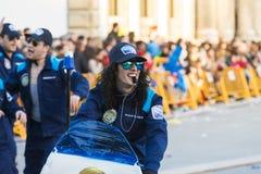 Karneval in Galizien (Spanien) Lizenzfreies Stockbild