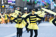 Karneval in Galizien (Spanien) Lizenzfreie Stockfotografie
